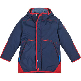 Finkid Talvinen Husky Winterparka with Detachable Hood Barn navy/red